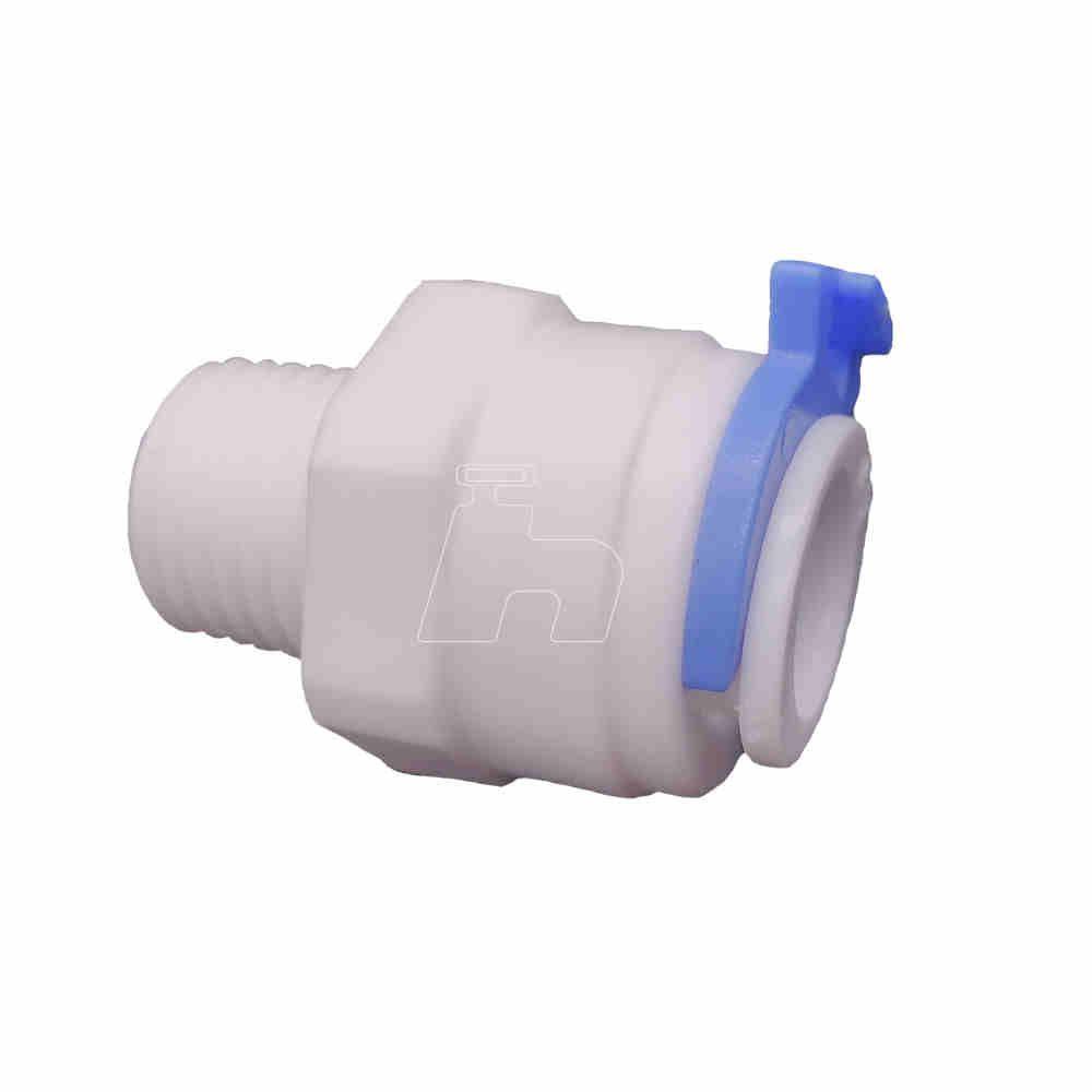 """União conexão engate rápido filtro mangueira 3/8"""" x 1/4""""  Sistem"""