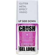 Esmalte Crush Efeito Gel Look Up Side Down