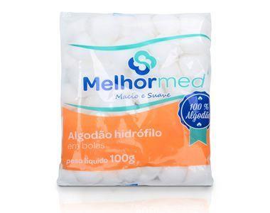 Algodão Hidrófilo 100g Melhor Med
