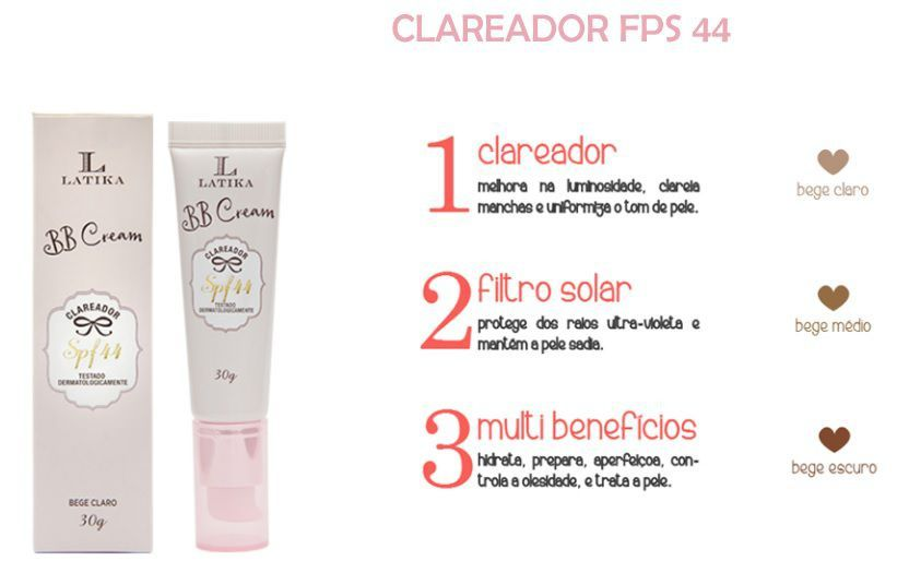 BB Cream Latika Bege Claro