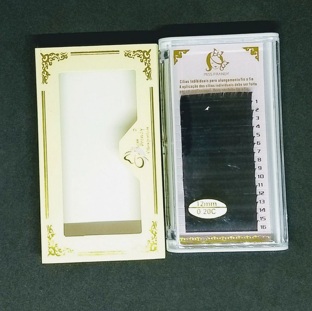 Cilios fio a fio miss frandy 12mm 0.20c