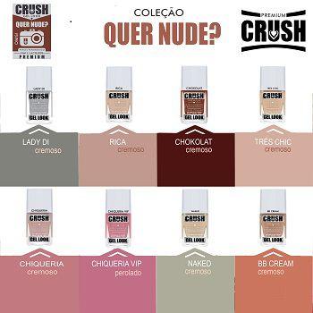 Coleçao Esmalte Crush Quer Nude