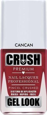 Esmalte Crush Cancan Efeito Gel Look