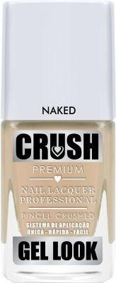 Esmalte Crush Efeito Gel Look Naked