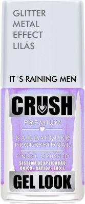 Esmalte Crush Efeito Gel Look Its Raining Man