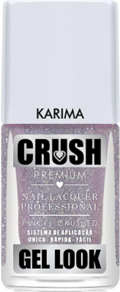 Esmalte Crush Efeito Gel Look Karima