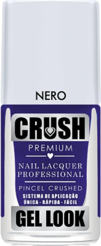 Esmalte Crush Efeito Gel Look Nero