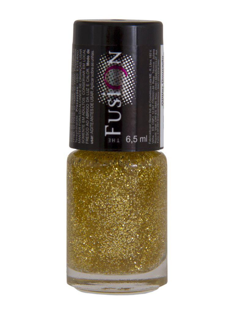 Esmalte Fusion Glitter Dourado