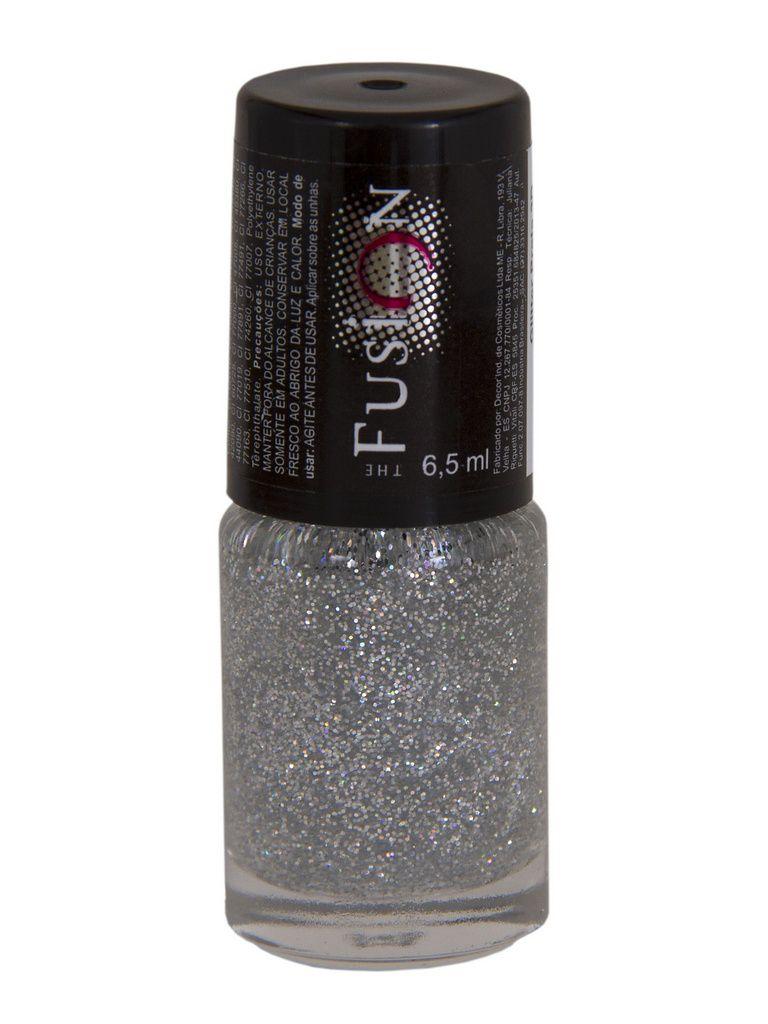Esmalte Fusion Glitter Prata