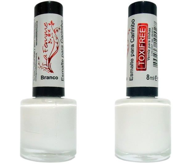 Esmalte LaFemme Branco Toxi Free