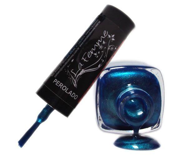 Esmalte LaFemme Lazuli Perolado