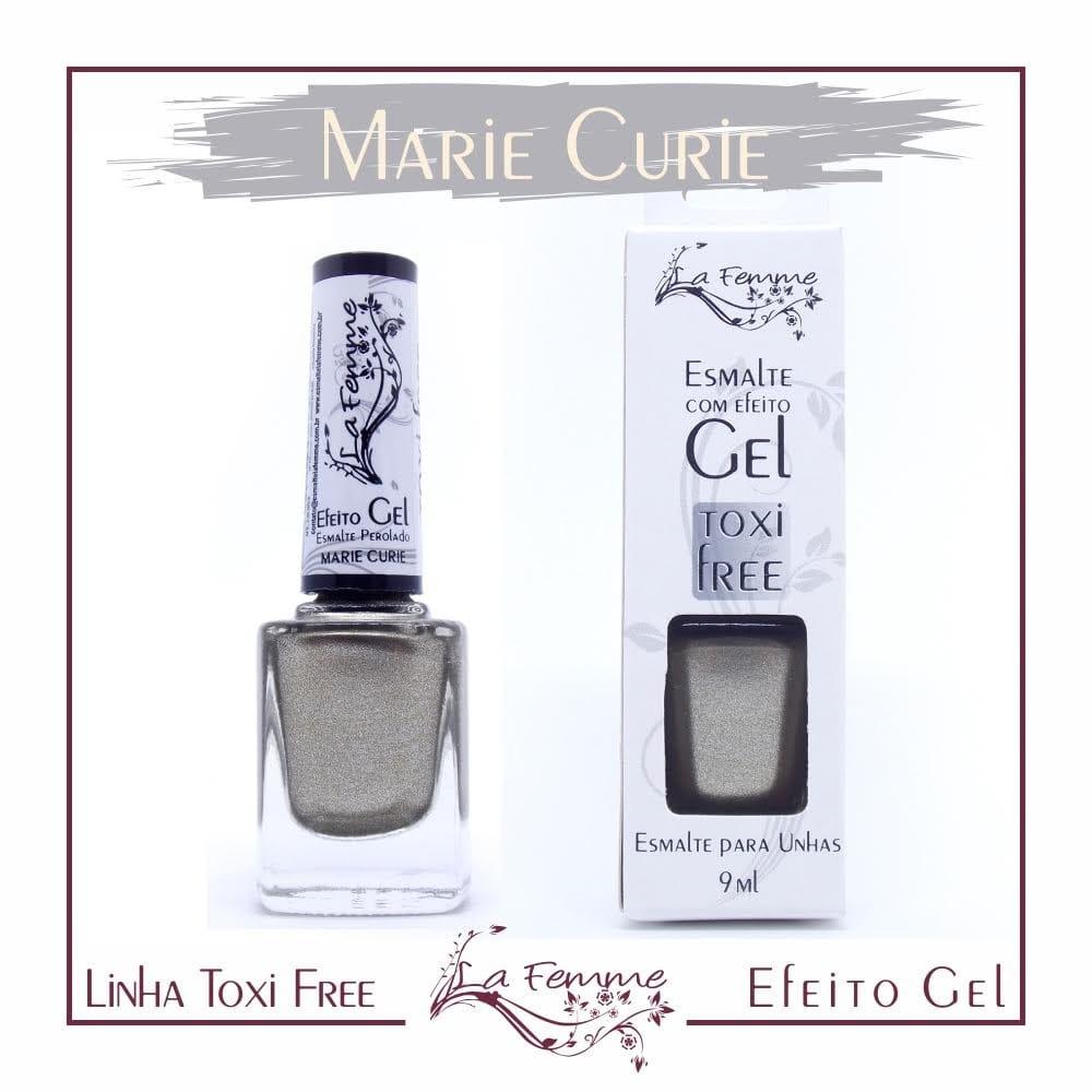 Esmalte Lafemme Toxi Free Efeito Gel Marie Curie