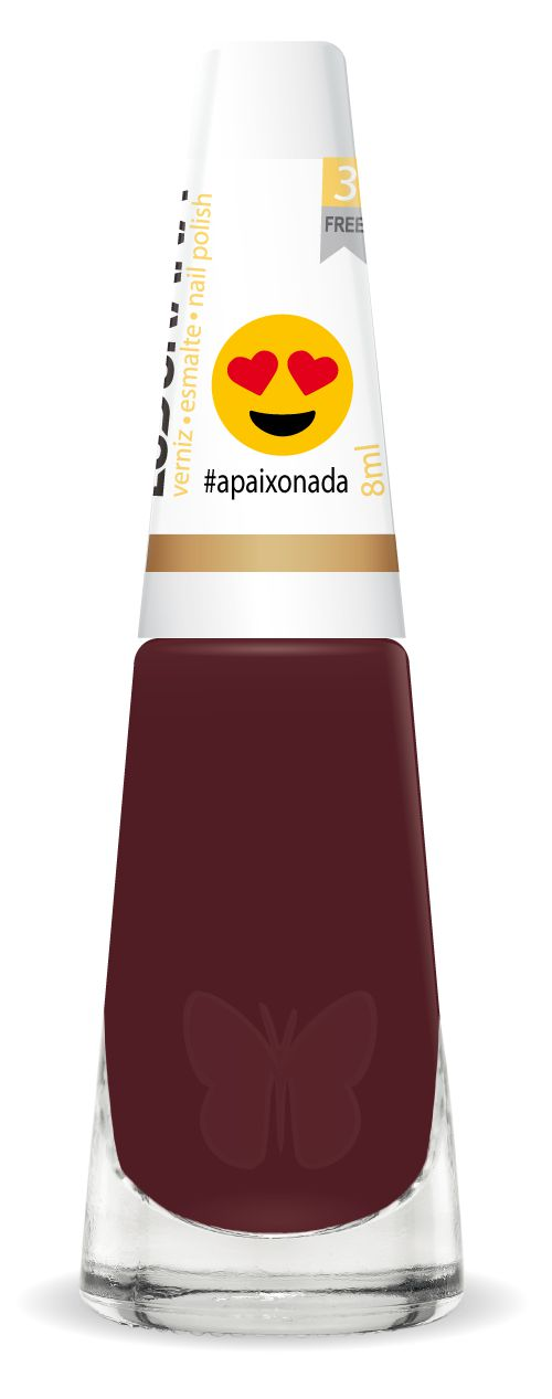 Esmalte Ludurana #Apaixonada Emojis 3 Free