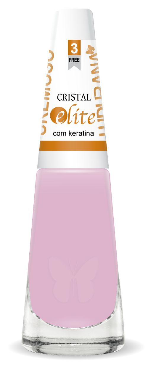 Esmalte Ludurana Cristal Rosa Cremoso 3 Free