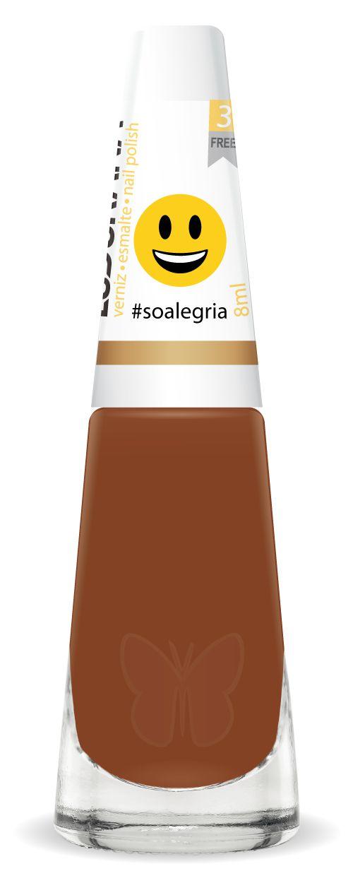 Esmalte Ludurana #So Alegria Emojis 3 Free