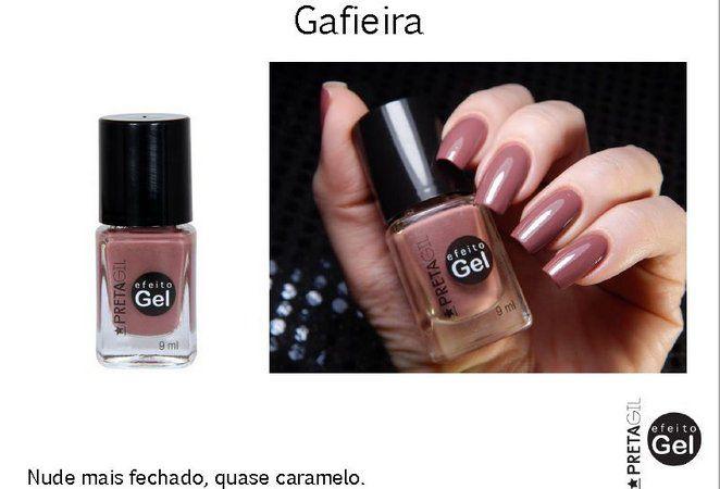 Esmalte Preta Gil Gafieira