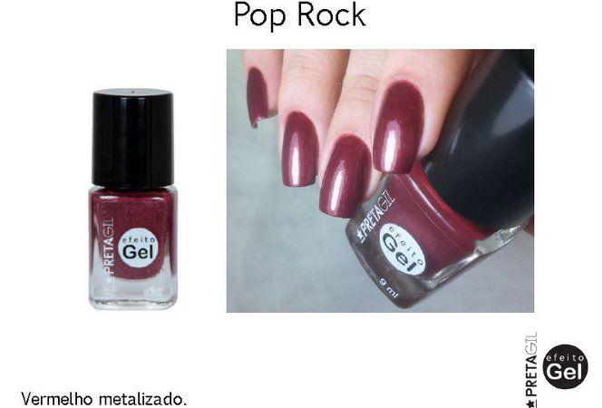 Esmalte Preta Gil Pop Rock