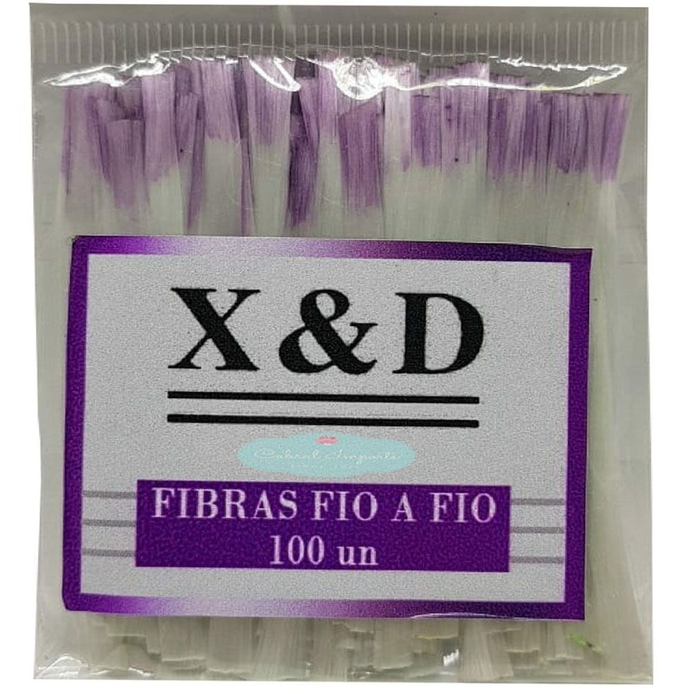 Fibras De Vidro Fio X&D 100 Unidades