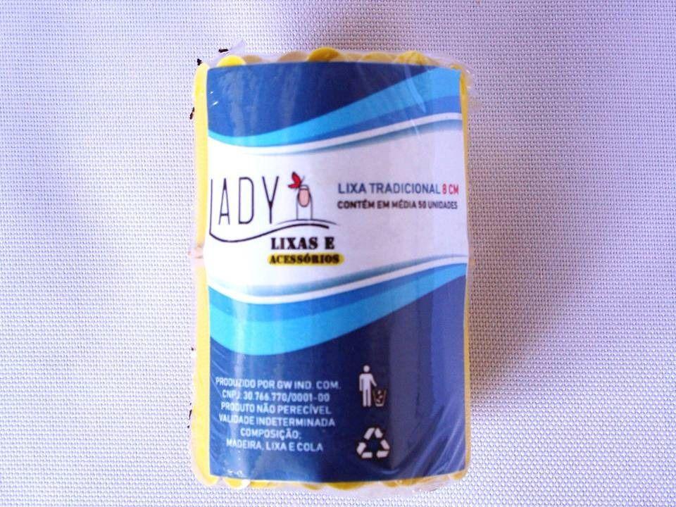 Lixa 8 cm com 100