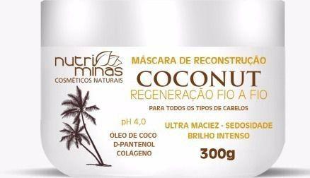Máscara de Reconstrução Coconut Nutriminas