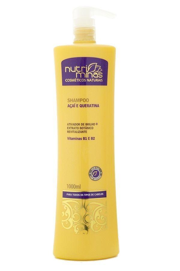 Nutriminas Shampoo Açaí 1000ml