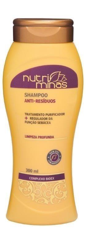 Nutri Minas Shampoo Anti Resíduos 300ml