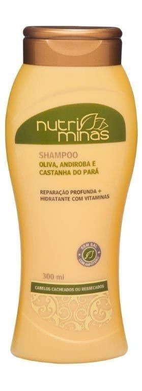 Nutri Minas Shampoo Oliva 300ml