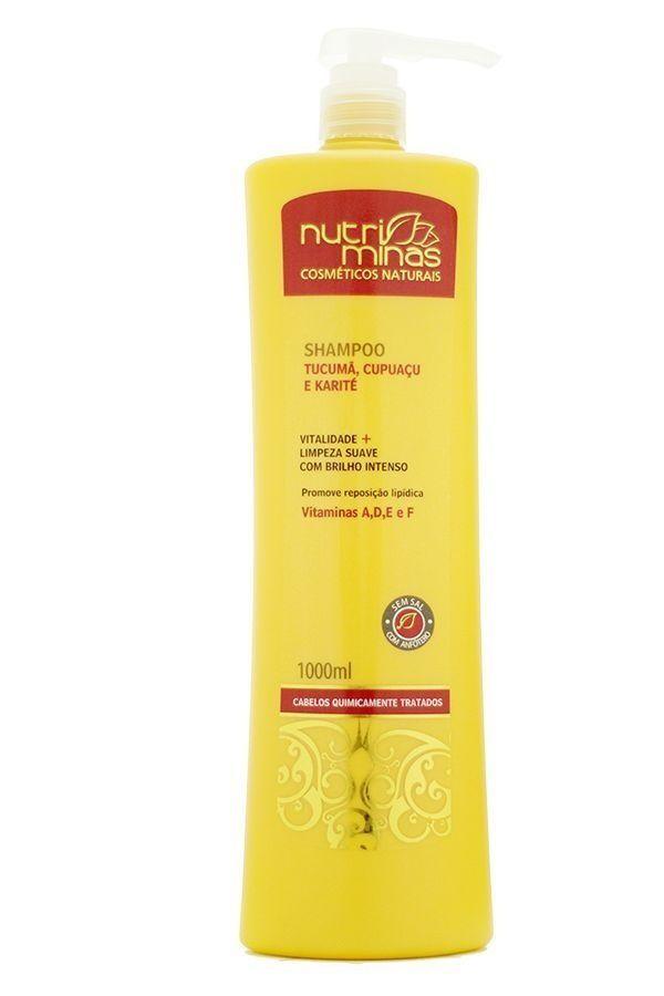 Nutri Minas Shampoo Tucumã 1000ml