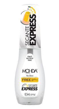 Esmalte Mohda FREE Cobertura- Secante Express