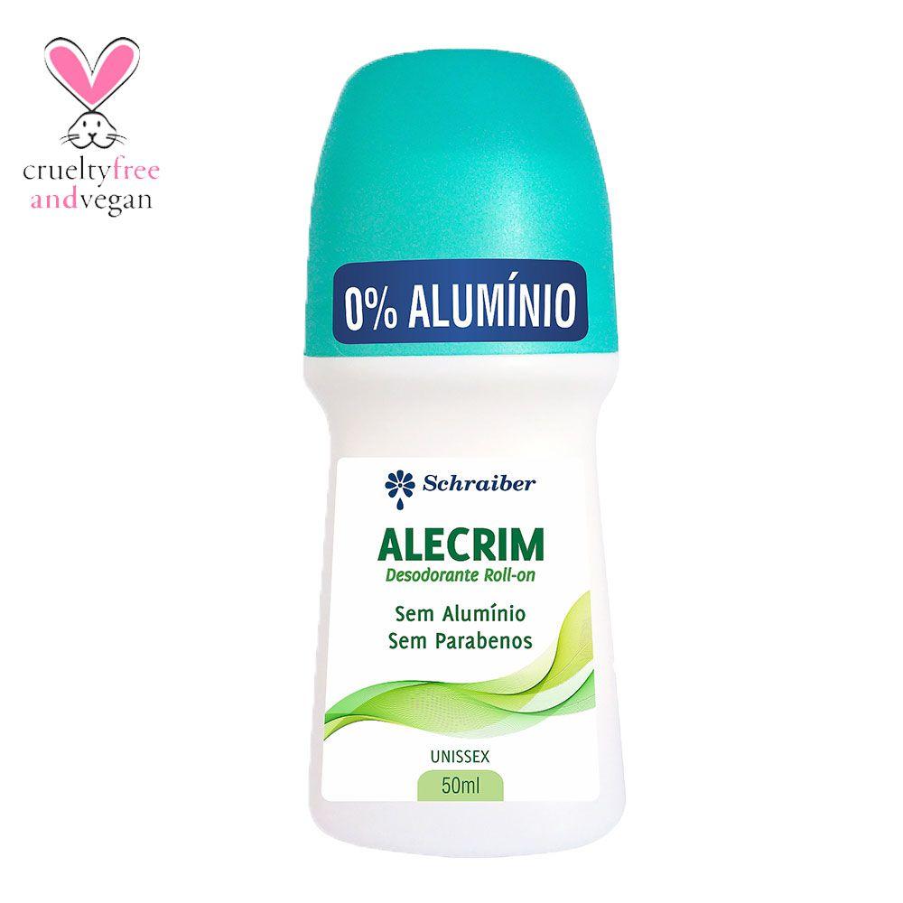 Desodorante sem alumínio Roll-on de Alecrim