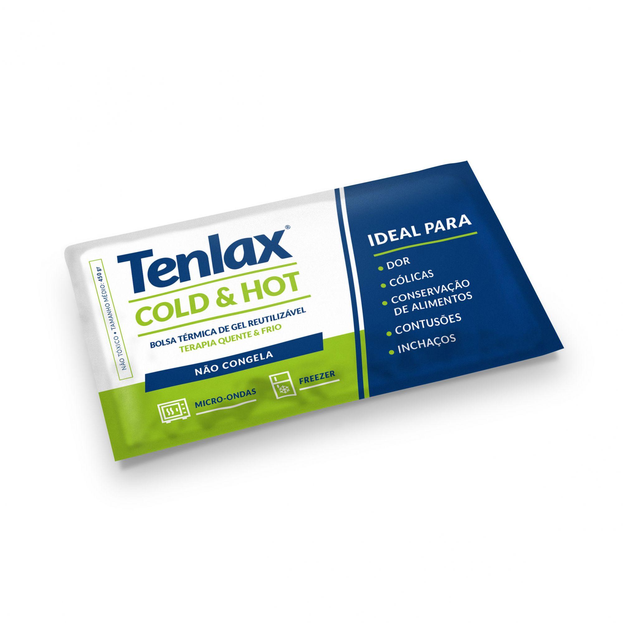 Bolsa de Gel -  450 gr - Terapia Quente/Frio - TENLAX COLD & HOT