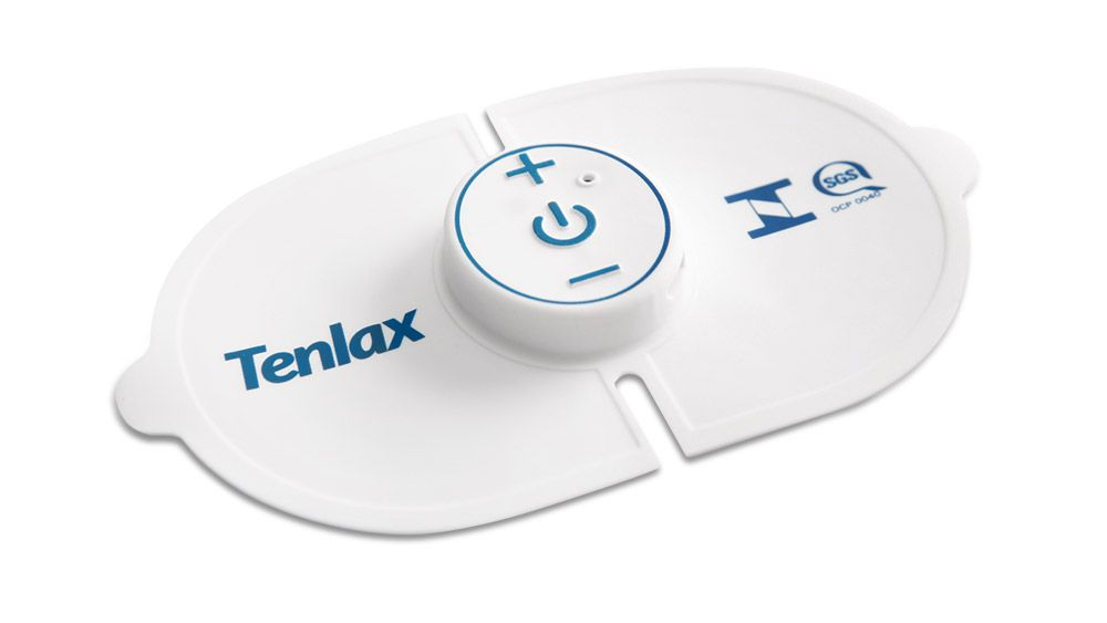 Eletroestimulador Neuromuscular TENLAX  + REFIL com 2 Reposições.