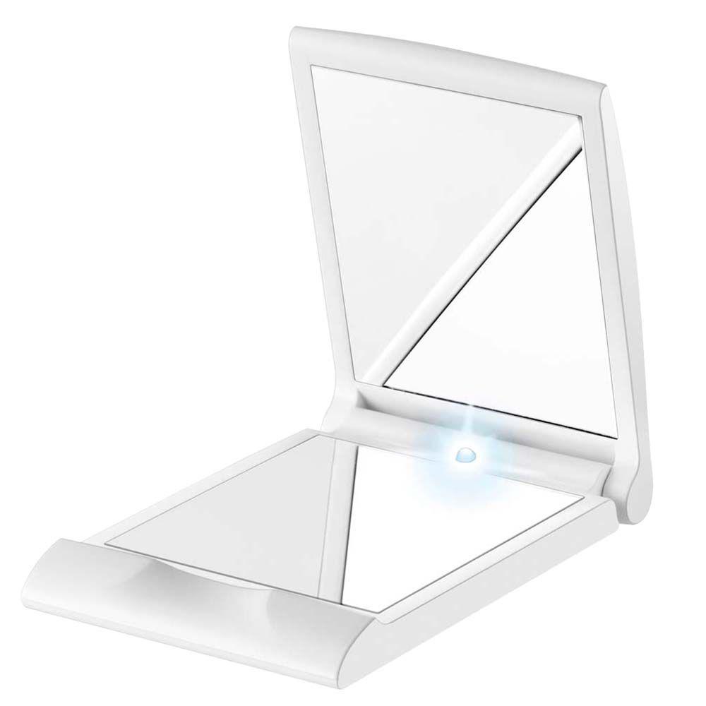 Espelho de Bolsa Iluminado - 2 Espelhos -  1 c/Aumento - BS05 - Beurer