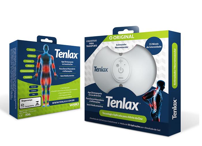 Eletroestimulador Neuromuscular TENLAX - Alivio da Dor - O Original!
