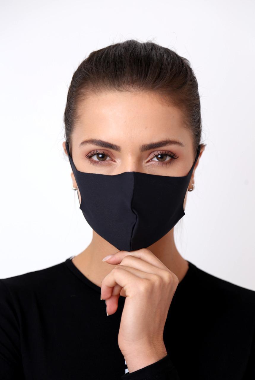 KIT c/ 5 Máscaras Reutilizáveis Antibactericidas Fashion MED