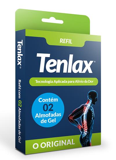REFIL  Eletroestimulador TENLAX  -  2 Reposições - Refil c/ 02 Unidades
