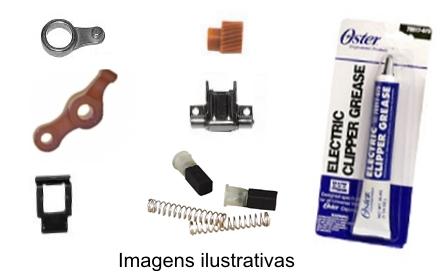 Kit Manutenção Completo Golden A5 2 Velocidades  - ElanTrade Máquinas e Equipamentos para Estética Animal