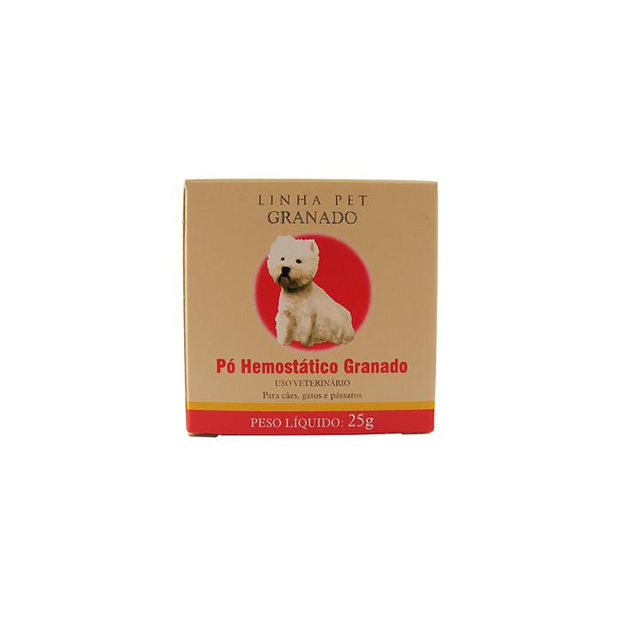 Pó Hemostático - Estanca Sangue - Granado  - ElanTrade Máquinas e Equipamentos para Estética Animal