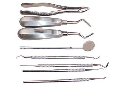 Kit Básico de Odontologia  - ElanTrade Máquinas e Equipamentos para Estética Animal