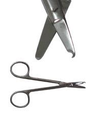 Tesoura Spencer p/ retirar ponto - 9 cm  - ElanTrade Máquinas e Equipamentos para Estética Animal