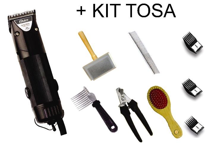 Máquina de Tosa Golden A5 1 veloc. 110V + SUPER KIT DE TOSA 8 ITENS  - ElanTrade Máquinas e Equipamentos para Estética Animal