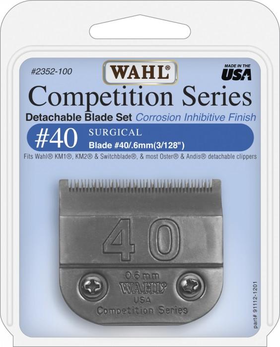 Lâmina 40 - Wahl  - ElanTrade Máquinas e Equipamentos para Estética Animal
