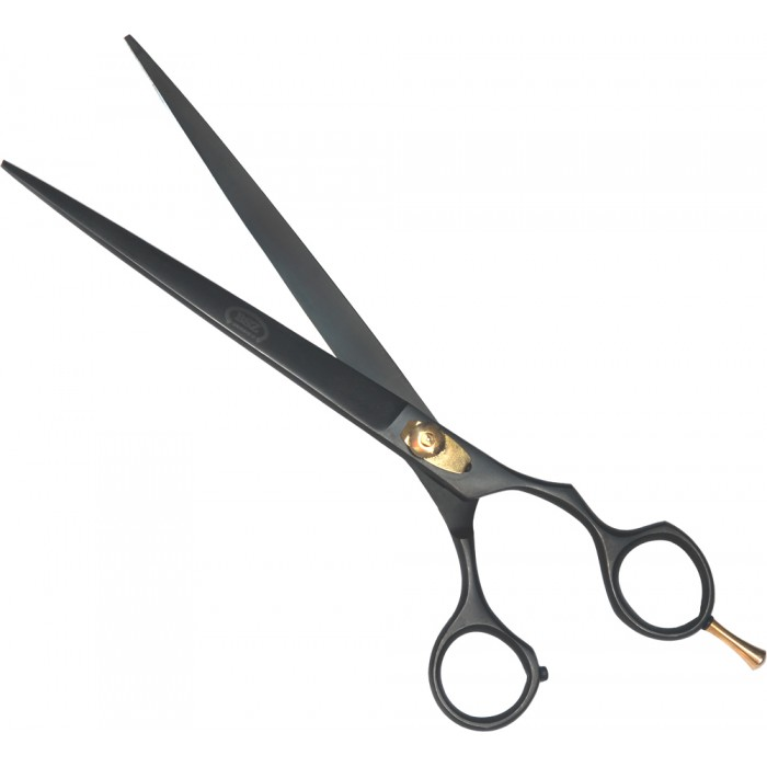 Tesoura Curva 8,0´ (20 cm) BSZ Preta  - ElanTrade Máquinas e Equipamentos para Estética Animal