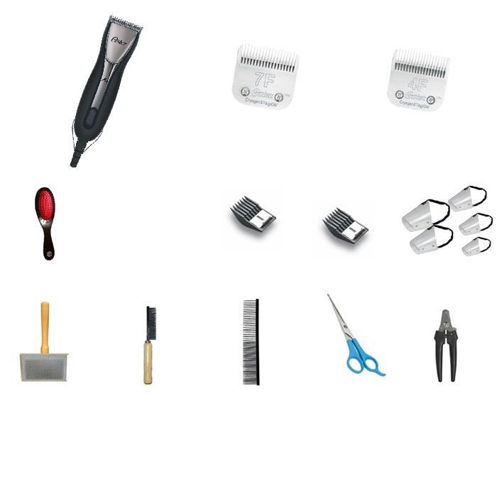 Kit Tosa Essencial – 16 Itens – com A6  - ElanTrade Máquinas e Equipamentos para Estética Animal