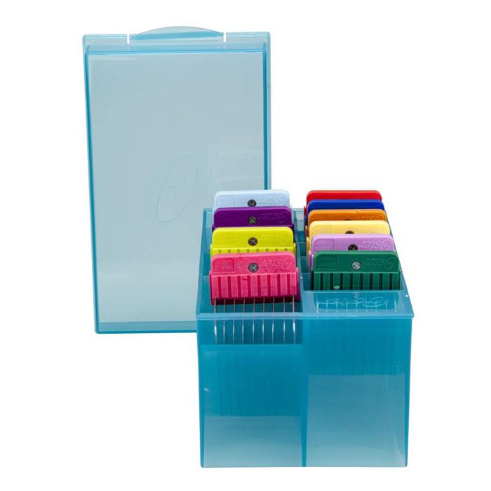 Kit de Pentes Adaptadores em Aço Inox (SNAPS) - 10 Peças  - ElanTrade Máquinas e Equipamentos para Estética Animal