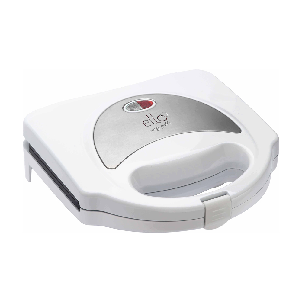 Sanduicheira Easy Grill - Inox / Branco - ESA110 - 220V - Ello  - ElanTrade Máquinas e Equipamentos para Estética Animal