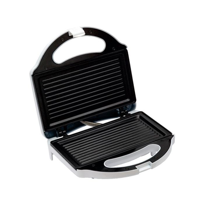 Sanduicheira Easy Grill - Inox / Branco - ESA110 - 127V - Ello  - ElanTrade Máquinas e Equipamentos para Estética Animal