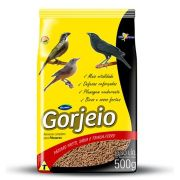 500g Ração Gorjeio para Sabias / Trinca Ferro e Pássaro Preto