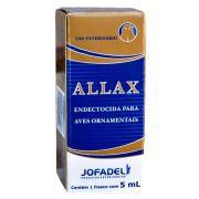 Allax - 5ml - indicado respiração ofegante / esfregando bico no Puleiro com frequência
