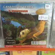 CD Canario da Terra o professor